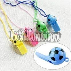 cotillon Silbato pelota futbol