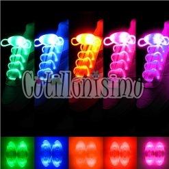 cotillon cordones led fluor luminoso